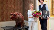 Ghislaine is 10.000ste bezoeker 'The Beauty of the Beast'