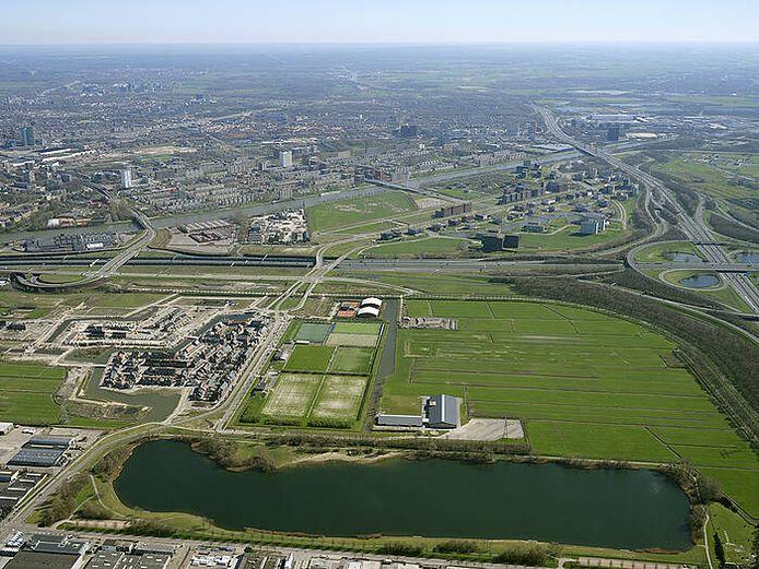 Bedrijventerrein Strijkviertel komt naast de Strijkviertelplas in Utrecht.
