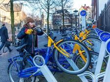 Alleen bij treinstations is de ov-fiets een succes