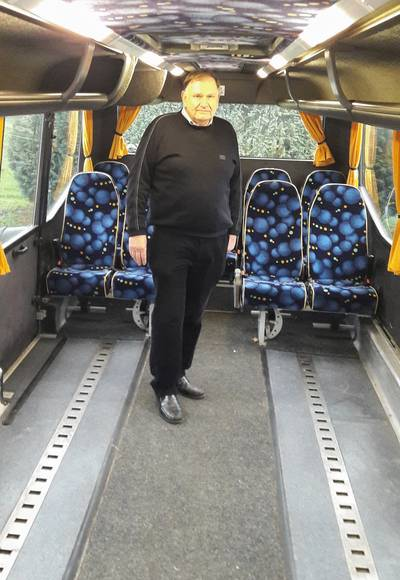Geraniums dreigen voor rolstoelers en gehandicapten als Rolerisuit buschauffeurs moet gaan betalen
