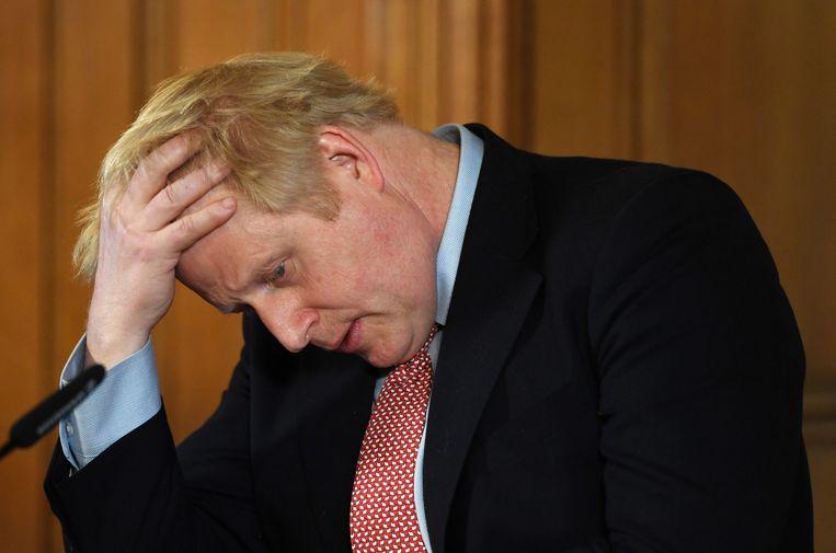Boris Johnson  Beeld EPA