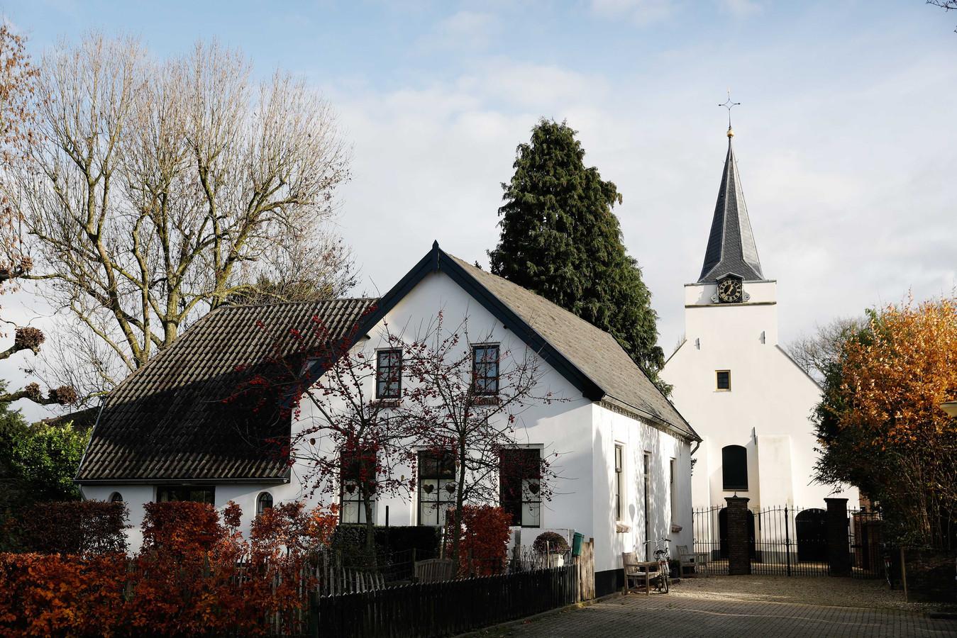 De kerk van Rhenoy.
