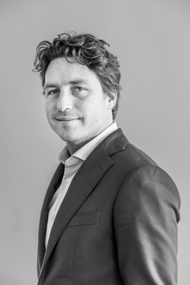 Reinier van Dantzig, fractievoorzitter D66 Amsterdam Beeld Tammy van Nerum