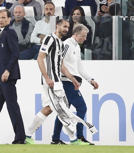Juventus voorlopig zonder Chiellini