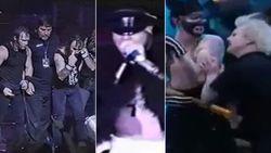 VIDEO: Nickelback bekogeld, Axl Rose valt fan aan en Iron Maiden bespuwd: 9 keren dat bands het aan de stok kregen met publiek (of met elkaar)