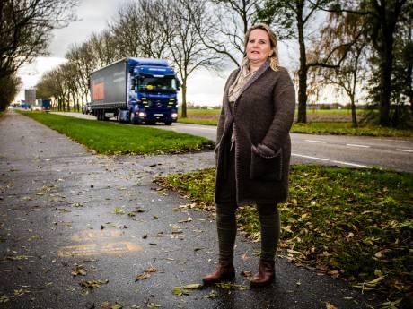 Mariëlle's vriend verongelukte met zijn vrachtwagen: nu leert ze 2-jarigen veilig oversteken