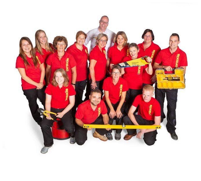 Het personeel van Praxis Oudenbosch