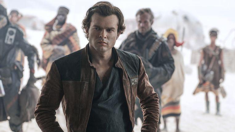 Alden Ehrenreich speelt de jonge Han Solo. Beeld RV