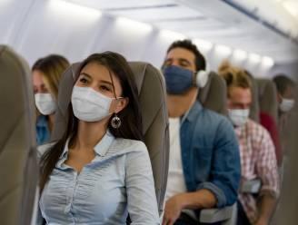 Twee mannen riskeren boete van 25.000 euro voor het niet dragen van mondmasker op vliegtuig