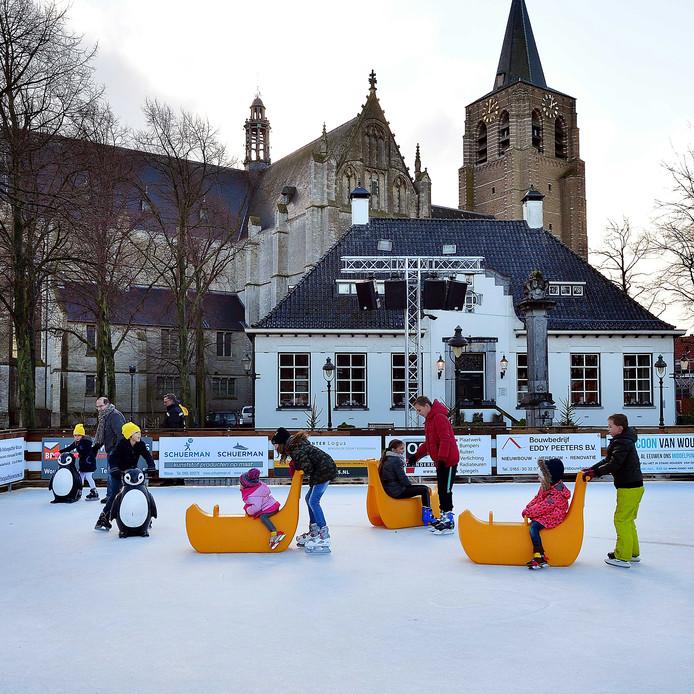 Al een paar jaar kan er worden geschaatst in Wouw.