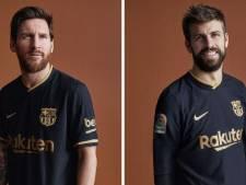 Messi et ses coéquipiers présentent le nouveau maillot extérieur du Barca
