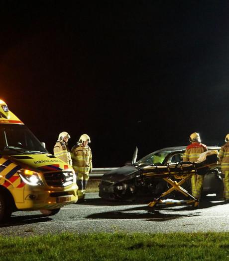 A28 bij Lichtmis uur afgesloten geweest na ongeval
