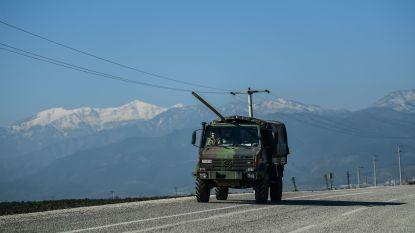 Raketten uit Syrië slaan neer op Turks grondgebied