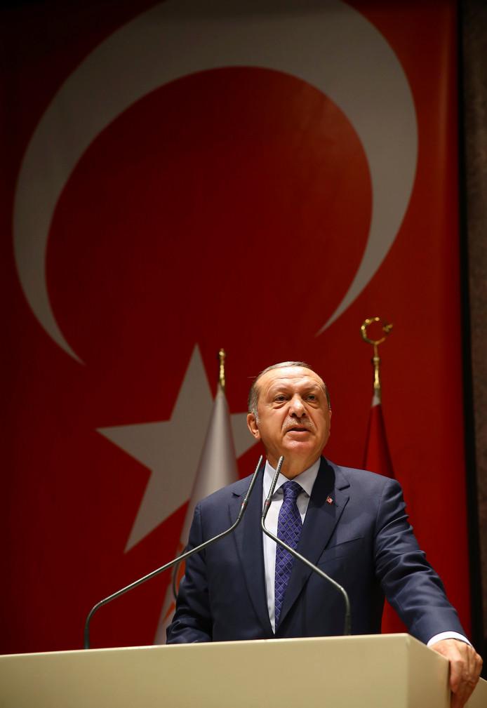 Turkse president Tayyip Erdogan