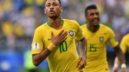 Neymar en co volgende tegenstander Rode Duivels: Brazilië rekent na rust af met Mexico (maar mist vrijdag Casemiro)