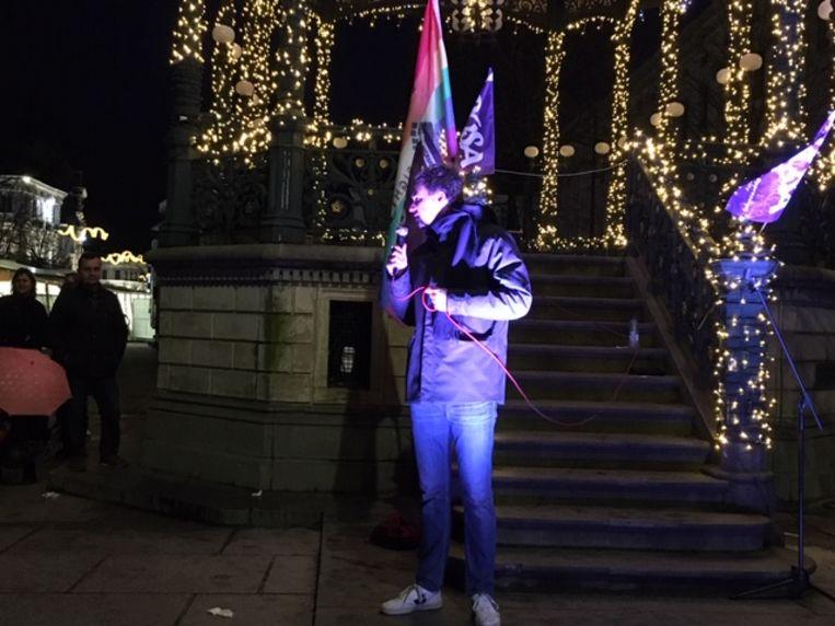 Actie tegen homofoob geweld: de burgemeester aan het woord.