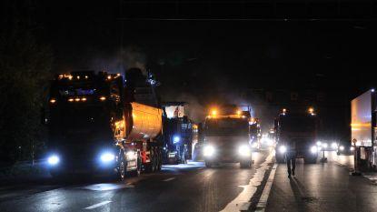 Zware ochtendspits rond Antwerpen: meer dan uur file door twee ongevallen aan Kennedytunnel