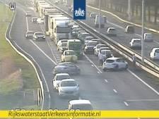 A58 tussen Eindhoven en Tilburg dicht na ongeval bij Moergestel