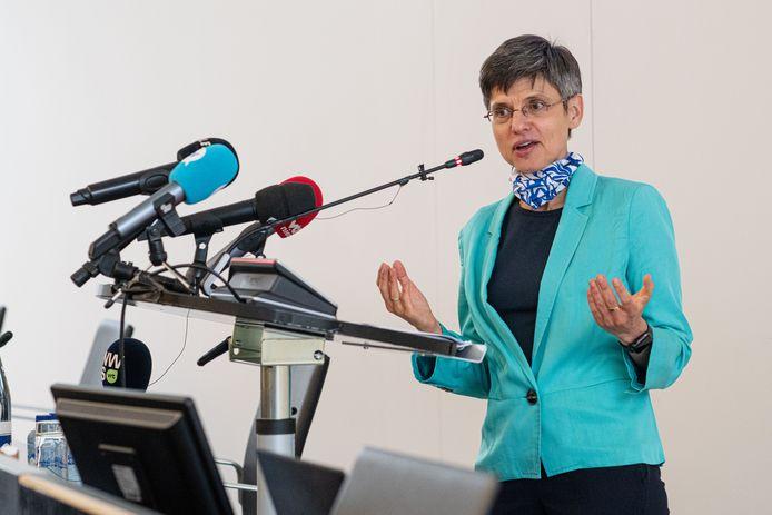 De Antwerpse provinciegouverneur Cathy Berx, archiefbeeld.