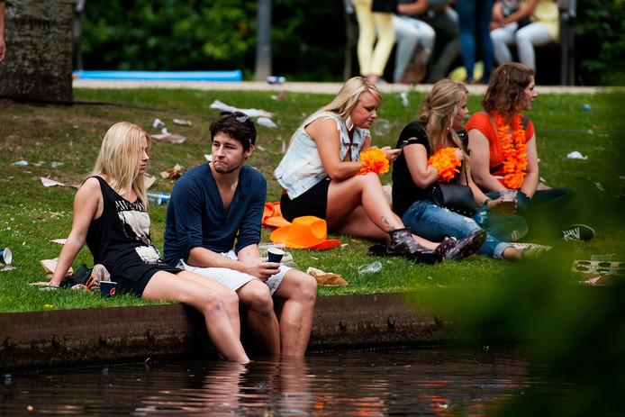 Het Wilhelminapark in Tilburg is ook toneel van verschillende festivals, zoals ook Zomerkamp Festival in juni.