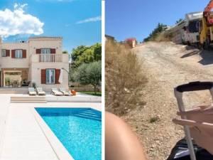 Ils louent une villa 6500 euros en Croatie... pour trouver un terrain vague à la place