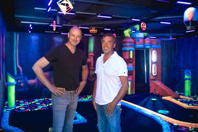 Peter Snijders (links) en Eric Achterberg.