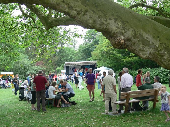 Archieffoto van het Belmondo Festival.