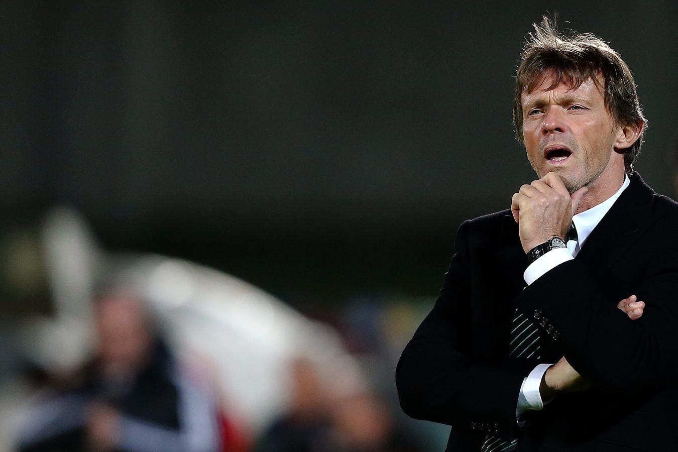 Franky Vercauteren in december 2012 als trainer van Anderlecht.