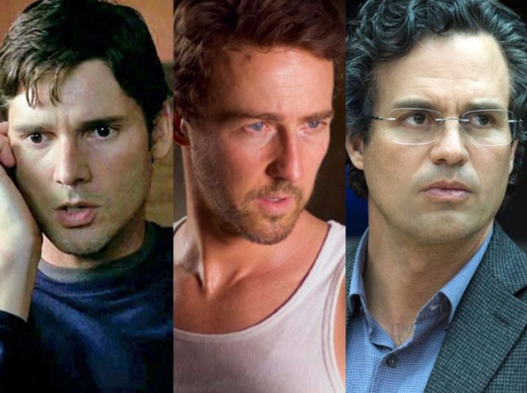 Eric Bana, Edward Norton, en Mark Ruffalo