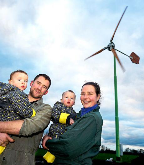 Hier staat Woerdens eerste windmolen nieuwe stijl: 15 meter hoog met houten wieken