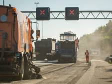 Zes weken lang ernstige hinder op A28 door werkzaamheden tussen Harderwijk en Strand Nulde