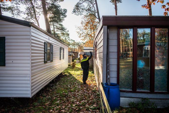 inval/onderzoek op camping Arnhem.