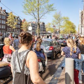Directeur Hollandpromotor NBTC: 'Amsterdam moet toeristen niet weren'