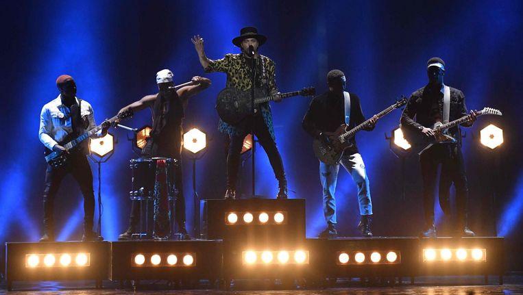 Waylon op het Songfestival Beeld ANP