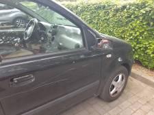 Auto's vernield in Westervoort en Didam