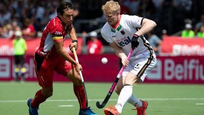 Red Lions slepen in dolle slotfase nog draw uit de brand tegen Duitsland, Red Panthers verliezen