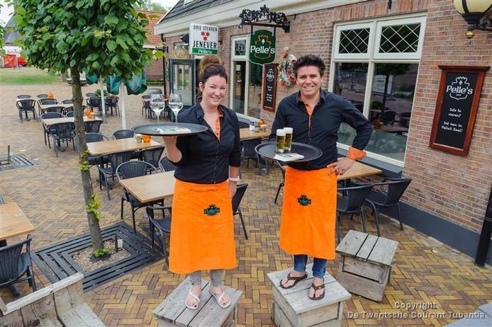 De uitbaters van Pelle's: Wendy Amweg en Roy Spekhorst.