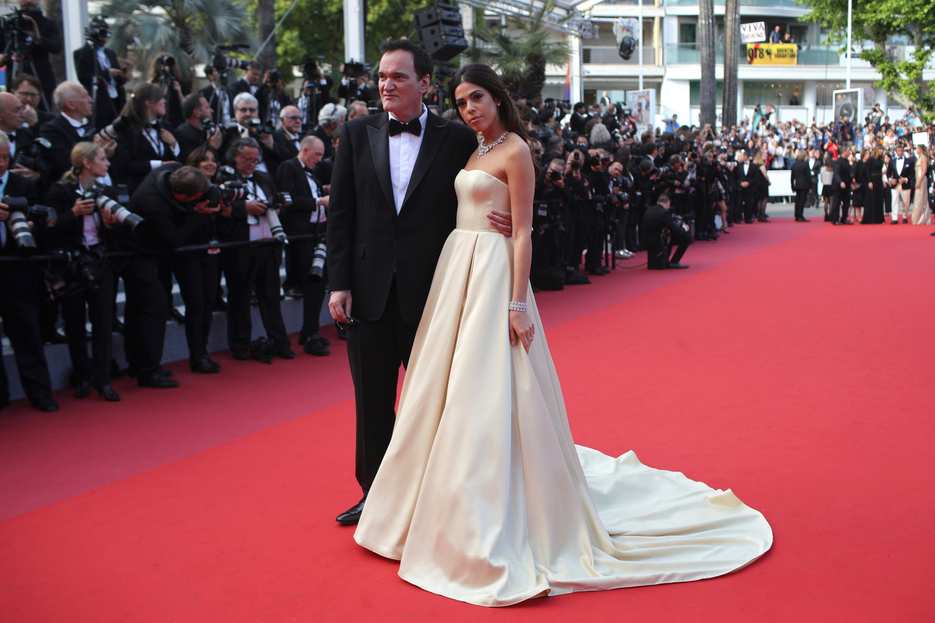 Quentin Tarantino et Daniela Pick