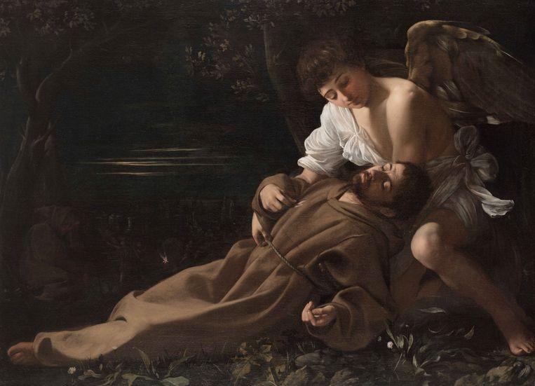 Michelangelo Merisi da Caravaggio, Sint Francis van Assisi in extase, 1595. Beeld null