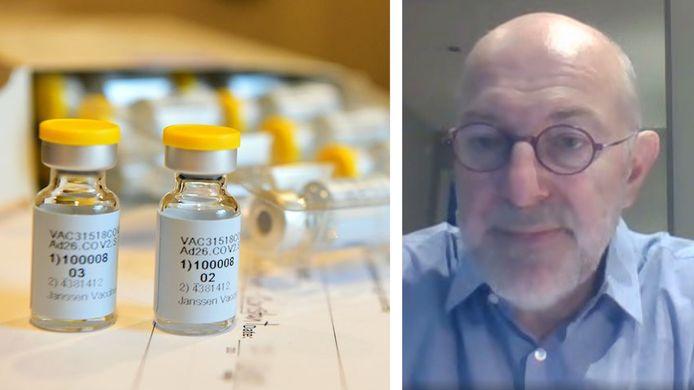 Pierre Van Damme verwacht pas een vaccin tegen de zomer van 2021.