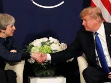 'Ook al dreigde eerder massaal protest, Trump gaat in juli naar Engeland'