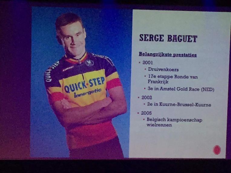 Serge Baguet kreeg een postuum eerbetoon.