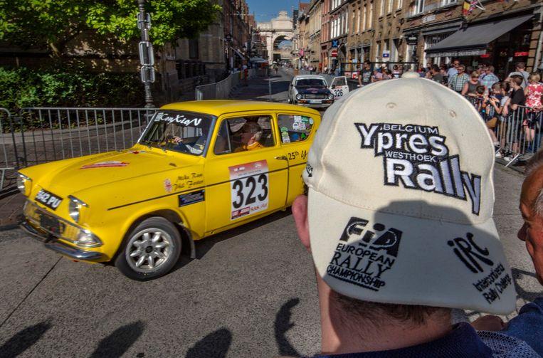 De Ypres Historic Rally maakt volgend jaar geen deel meer uit van het Europees kampioenschap, maar zal wel prominenter in het centrum aanwezig zijn.