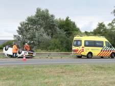 Gewonde bij ongeval op A58 bij Rilland