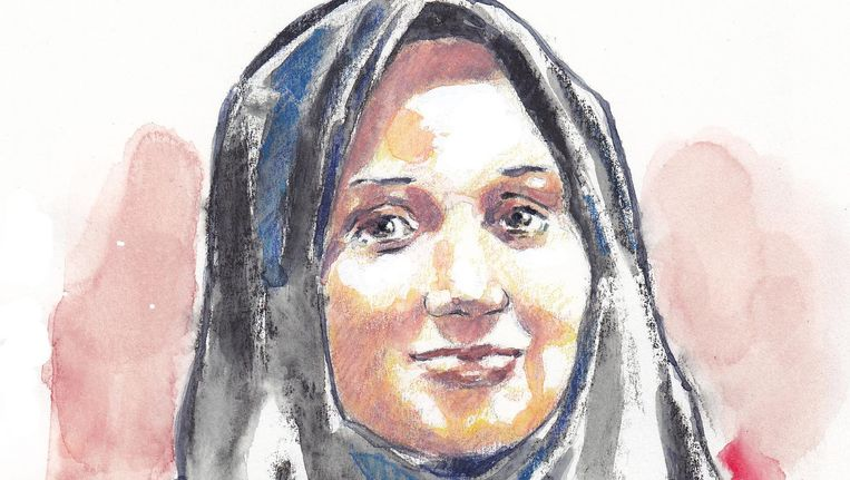 De bekendste vrouwelijke jihadist Laura H. Beeld anp