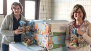 """Basisschool De Wereldbrug schenkt paaseieren aan Sociaal Huis: """"Onze leerlingen zien we voor Pasen toch niet terug"""""""