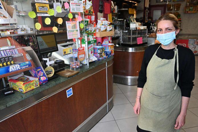 """Cristina Mattioli, la gérante du bar """"Feeling"""", à Rome"""