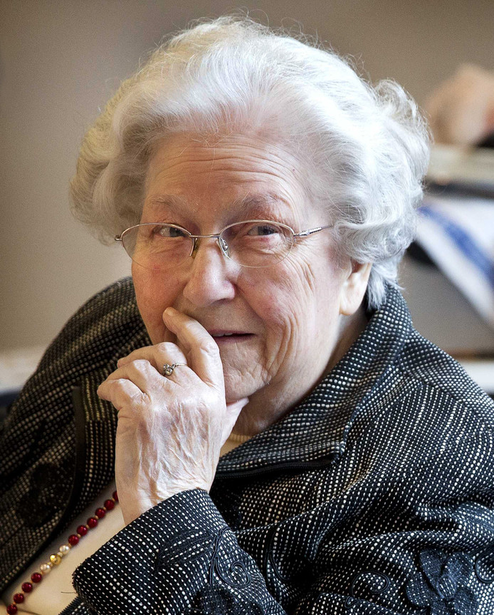 Hannie van Leeuwen in 2014.