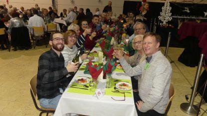 105 alleenstaanden vieren kerstavond in VTI