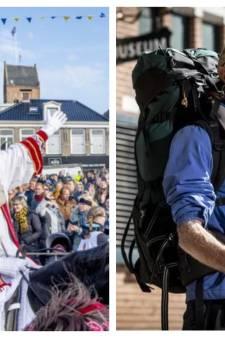 Gemist? Zitten bij intocht van Sinterklaas & kater voor Twentse wandelkoning